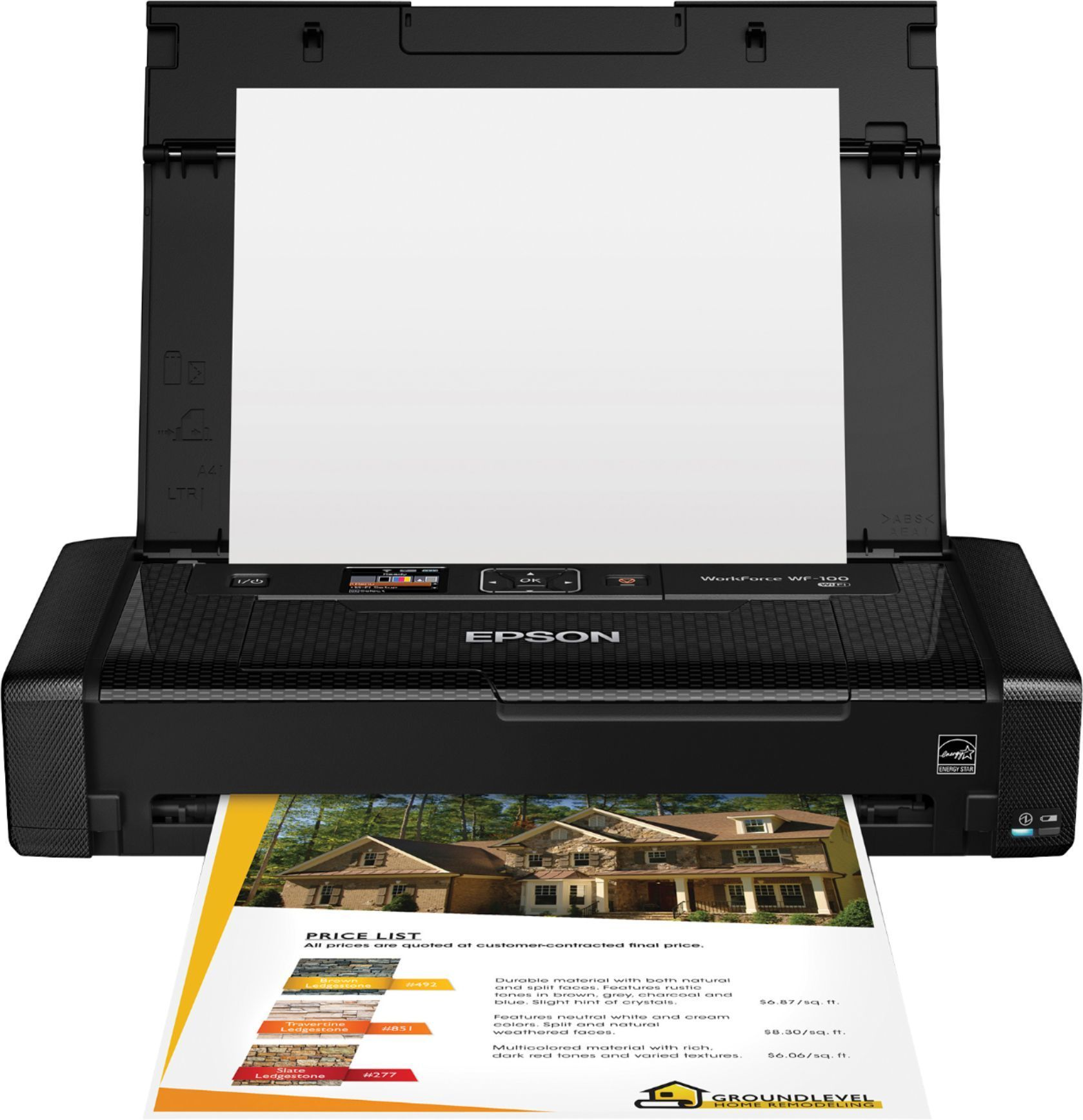 Epson WorkForce WF-100 Wireless Mobile Printer