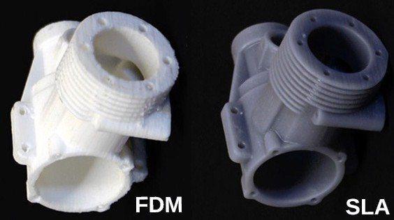 FDM vs SLA