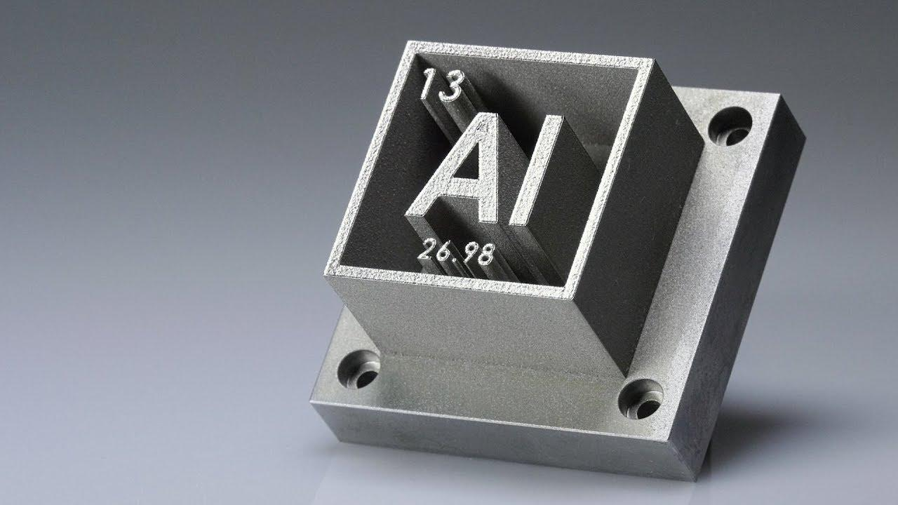 3D Printer Materials - Aluminum