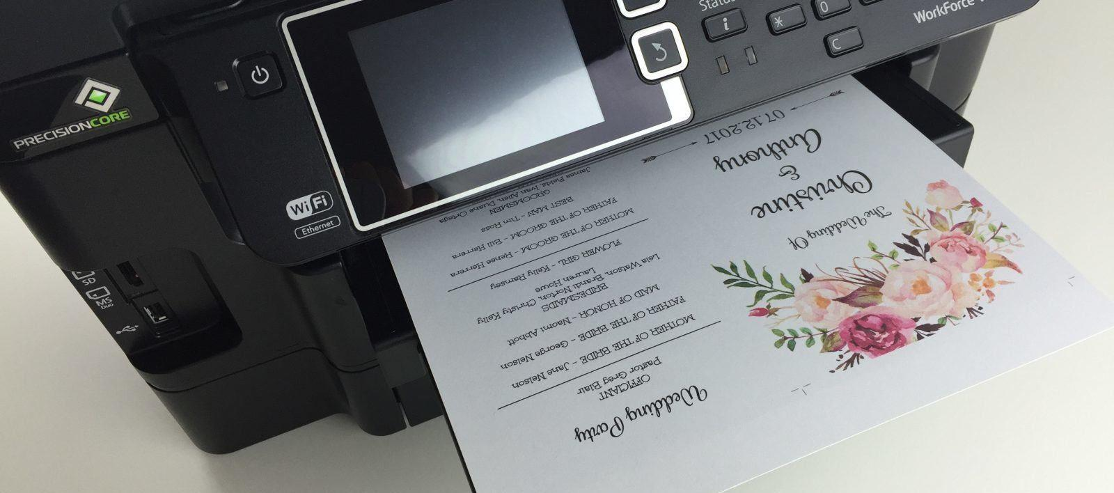 How to Choose a Printer for Cardstock