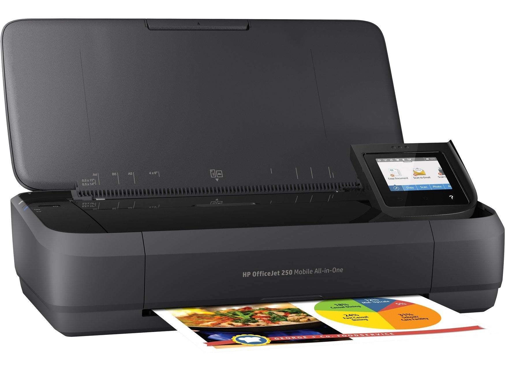 HP OfficeJet 250 All-in-One Photo Printer