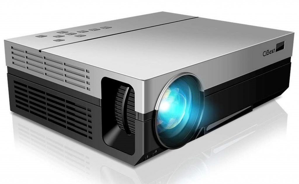 CiBest Native 1080p LED Video Projector