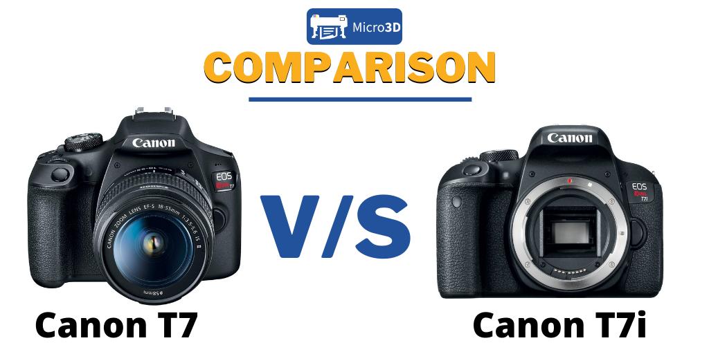Canon T7 Vs Canon T7i