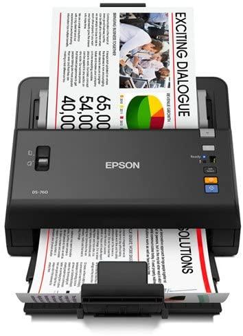 Epson WorkForce DS-760 Hi Speed, Sheet-Fed Color Document Scanner