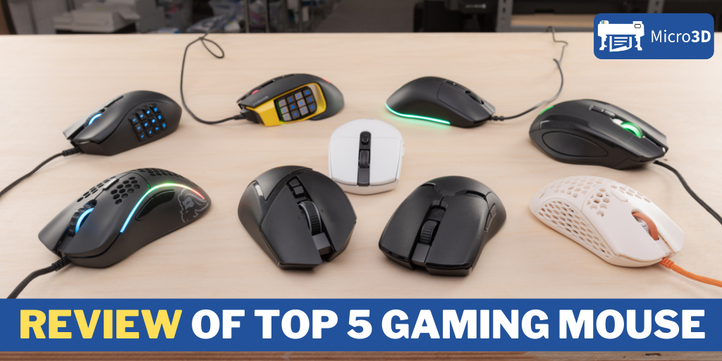 Review of top 5 gaming mouse